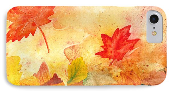 Autumn Dance IPhone Case by Irina Sztukowski