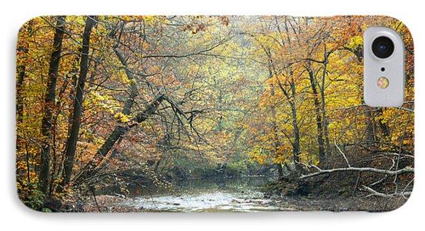 IPhone Case featuring the photograph Autumn Fairmount Park Philadelphia Pennsylvania by A Gurmankin