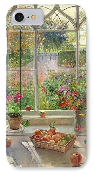 Autumn Fruit And Flowers Phone Case by Timothy  Easton