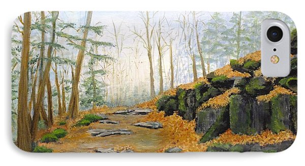 Autumn Hike Phone Case by Peggy King
