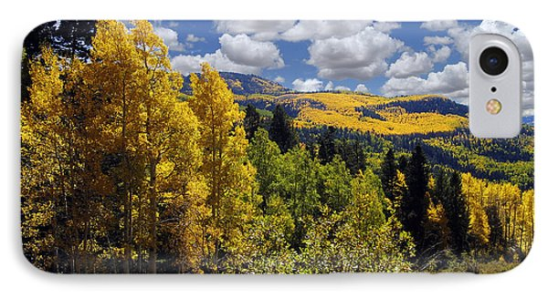 Autumn In New Mexico IPhone Case by Kurt Van Wagner