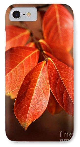 Autumn Leaves Phone Case by Joy Watson