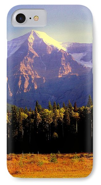 Autumn On The Mount Phone Case by Karen Wiles