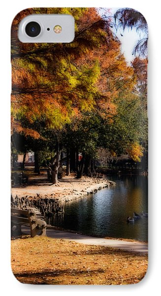 Autumn On Theta IPhone 7 Case by Lana Trussell
