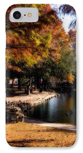 Autumn On Theta IPhone Case by Lana Trussell