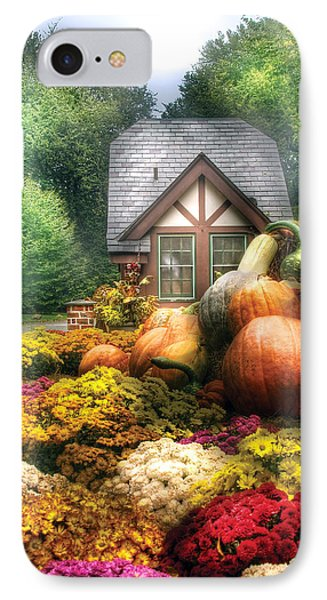 Autumn - Pumpkin - This Years Harvest Was Awesome  Phone Case by Mike Savad