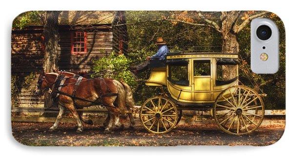 Autumn Ride IPhone Case by Joann Vitali