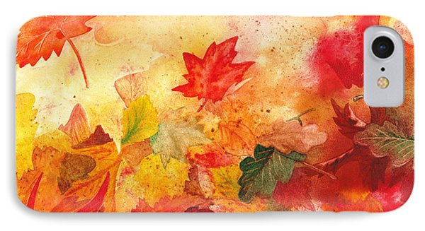 Autumn Serenade  IPhone Case by Irina Sztukowski