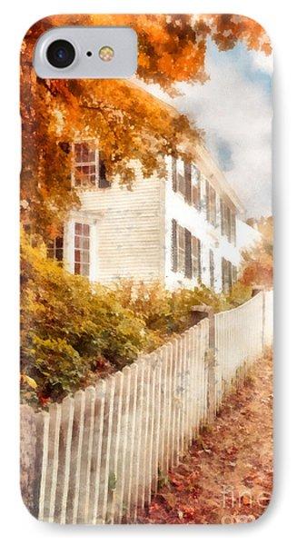 Autumn Splendor IPhone Case by Edward Fielding