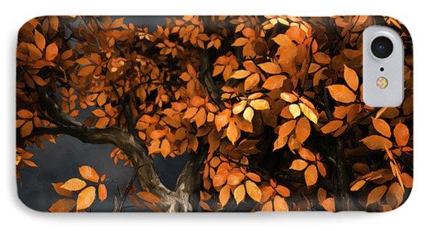 Autumn Storm IPhone Case by Cynthia Decker