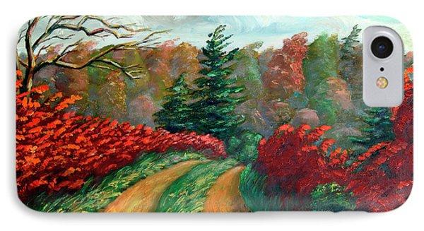 Autumn Trail Phone Case by Hanne Lore Koehler
