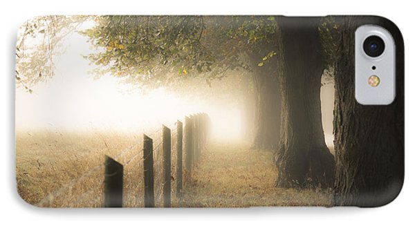 Autumnal Walkway IPhone Case by Chris Fletcher