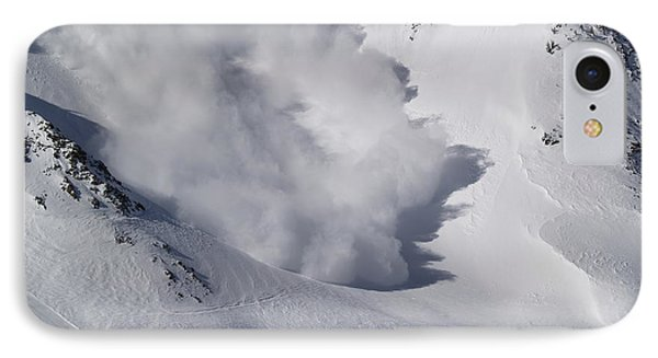 Avalanche Iv IPhone Case by Bill Gallagher