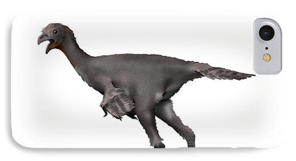 Avimimus Dinosaur IPhone Case by Nobumichi Tamura