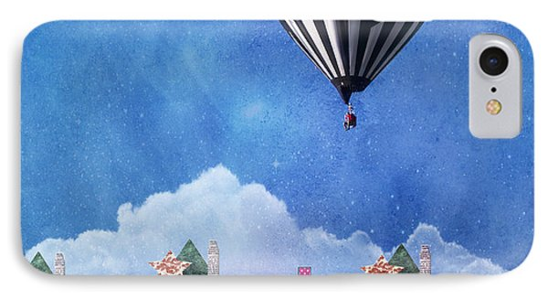Away Above The Chimney Tops IPhone Case by Juli Scalzi