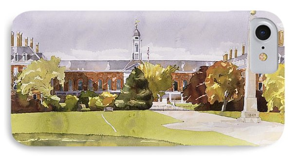 The Royal Hospital  Chelsea IPhone Case by Annabel Wilson