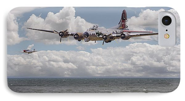 B17 The Hardest Mile Phone Case by Pat Speirs