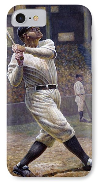 Babe Ruth IPhone 7 Case by Gregory Perillo