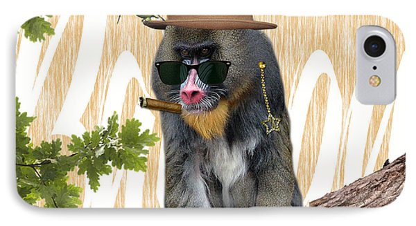 Baboon Collection IPhone Case by Marvin Blaine