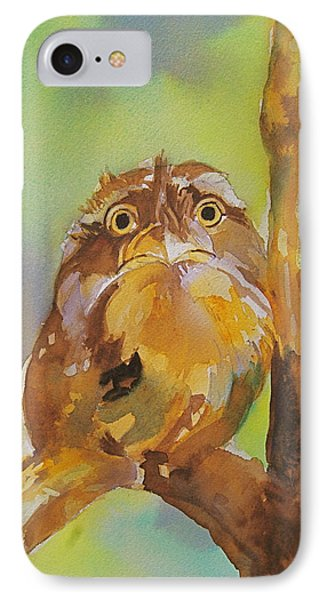 Baby Owl Phone Case by Reveille Kennedy