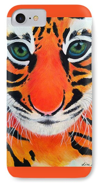 Baby Tiger Phone Case by Lisa Bentley