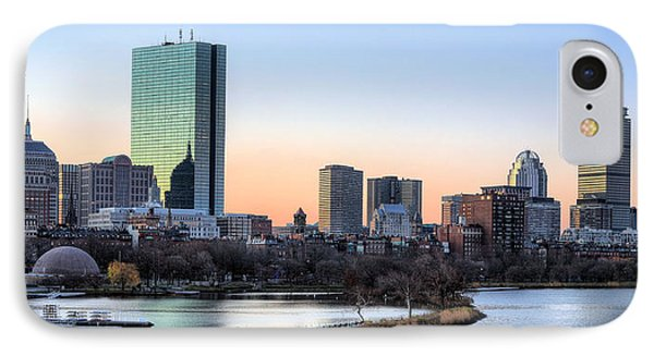 Back Bay Sunrise IPhone 7 Case by JC Findley