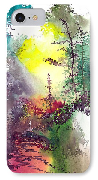 Back To Jungle IPhone Case by Anil Nene