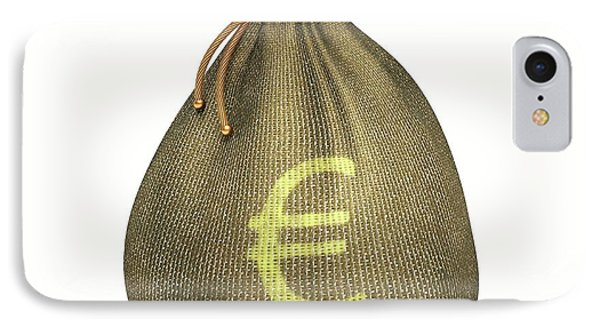 Bag With Euro Sign IPhone Case by Ktsdesign