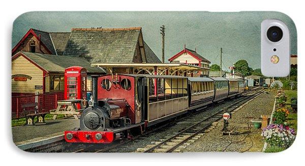 Bala Lake Railway IPhone Case by Adrian Evans