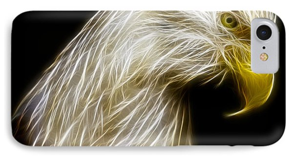 Bald Eagle Fractal IPhone Case by Adam Romanowicz