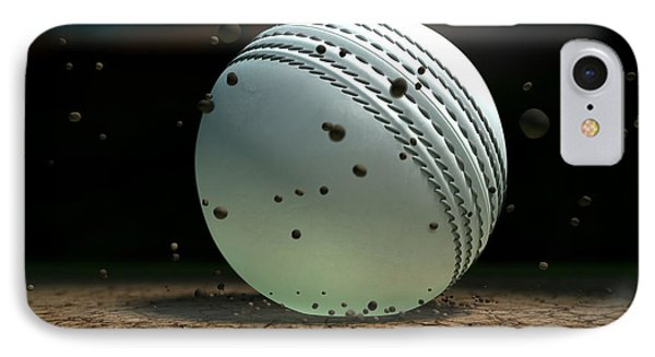 Ball Striking Bounce IPhone Case by Allan Swart