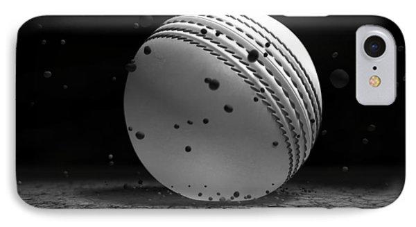Ball Striking Ground IPhone Case by Allan Swart