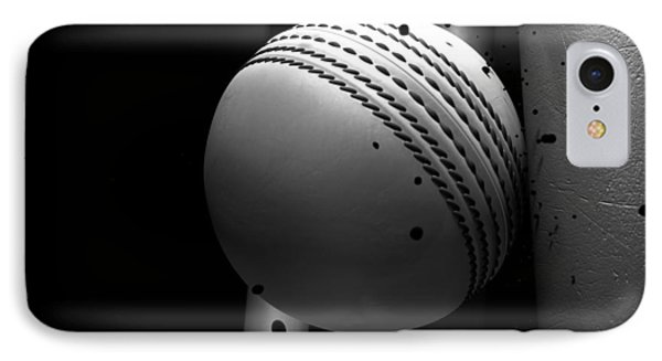 Ball Striking Stumps IPhone Case by Allan Swart