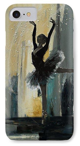 Ballerina 18 IPhone Case by Mahnoor Shah