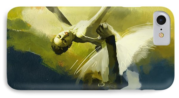 Ballet Dancer Phone Case by Corporate Art Task Force