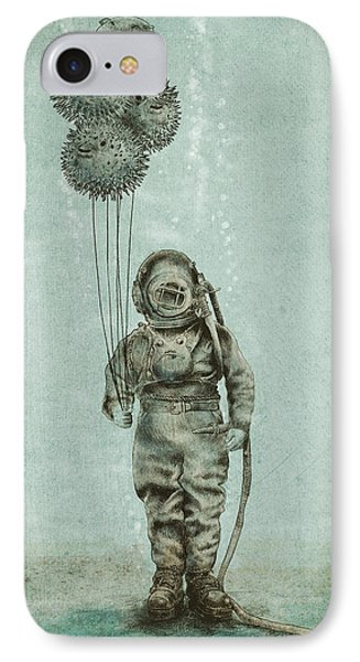 Balloon Fish IPhone Case by Eric Fan