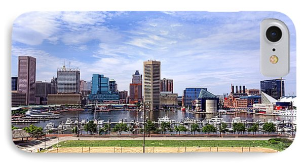 Baltimore Inner Harbor Beach - Generic IPhone Case by Olivier Le Queinec