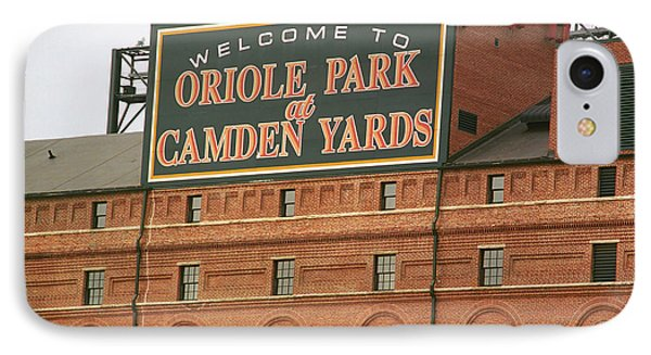 Baltimore Orioles Park At Camden Yards IPhone 7 Case by Frank Romeo
