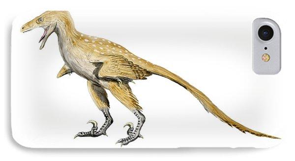 Bambiraptor Dinosaur IPhone Case by Nobumichi Tamura