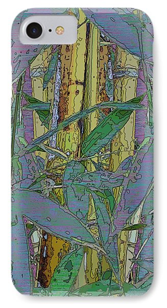 Bamboo Study 9 IPhone Case by Tim Allen