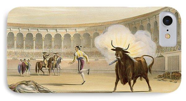Banderillas De Fuego, 1865 IPhone Case by William Henry Lake Price