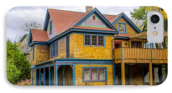 Bar Harbor Colors And Comfort IPhone Case by Julie Palencia