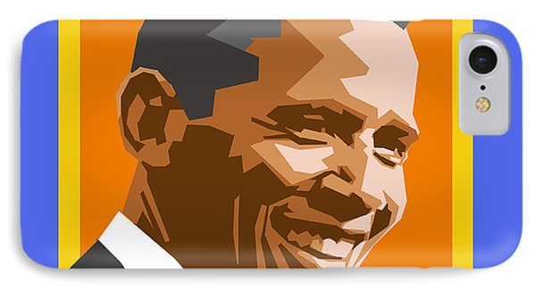 Barack IPhone 7 Case by Douglas Simonson