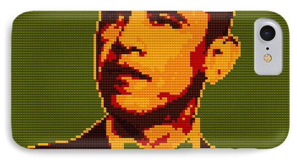 Barack Obama Lego Digital Painting Phone Case by Georgeta Blanaru