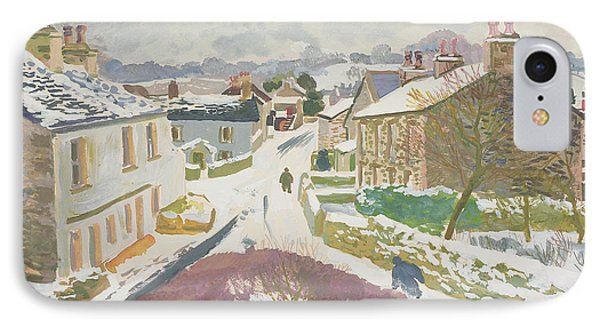 Barbon In The Snow Phone Case by Stephen Harris