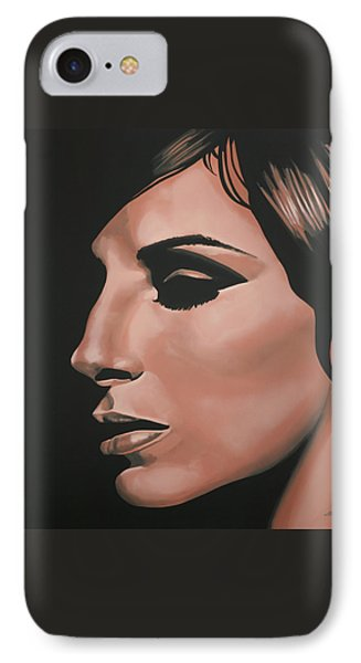 Barbra Streisand Phone Case by Paul Meijering
