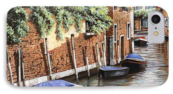 Barche A Venezia Phone Case by Guido Borelli