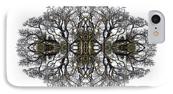 Bare Tree IPhone Case by Debra and Dave Vanderlaan