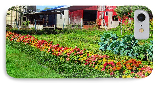 Barn And Garden Phone Case by Tina M Wenger