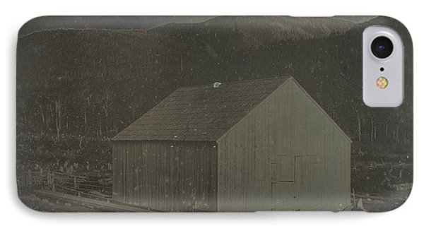 Barn In Harts Location, New Hampshire Dr. Samuel A. Bemis IPhone Case by Litz Collection